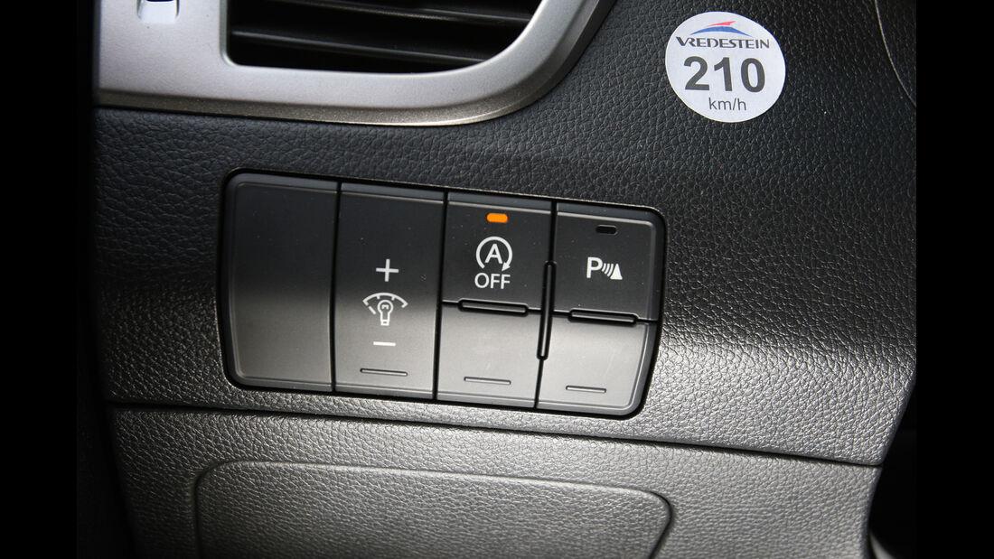 Hyundai i30 1.6 CRDi Trend, Bedienelemente