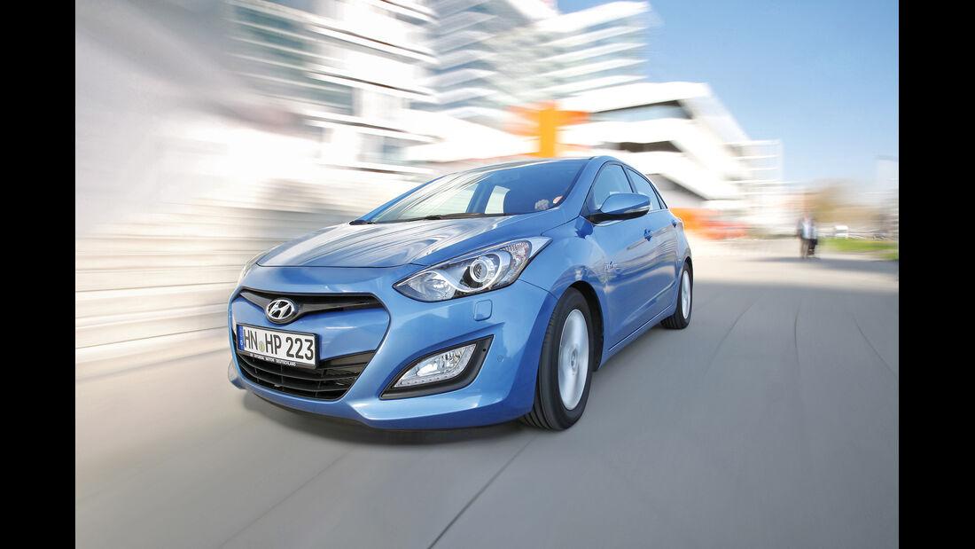 Hyundai i30 1.6 CRDi Trend, Frontansicht