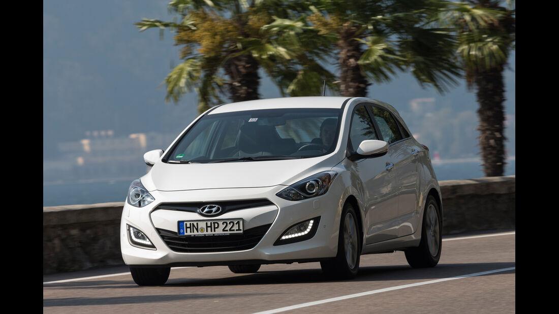 Hyundai i30 1.6, Frontansicht