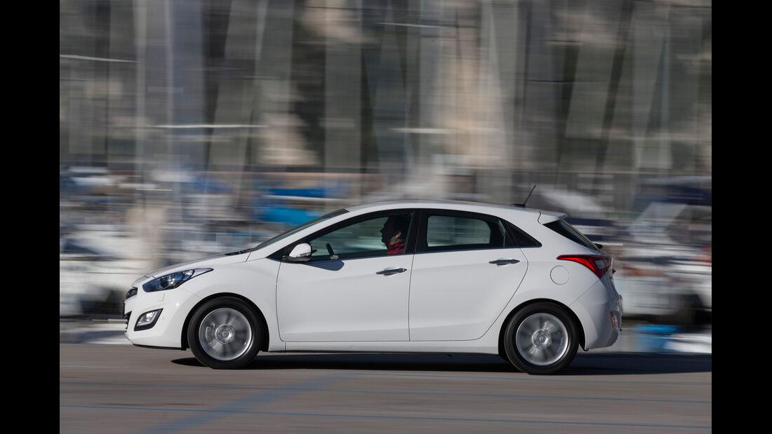 Hyundai i30 1.6 GDi, Seitenansicht