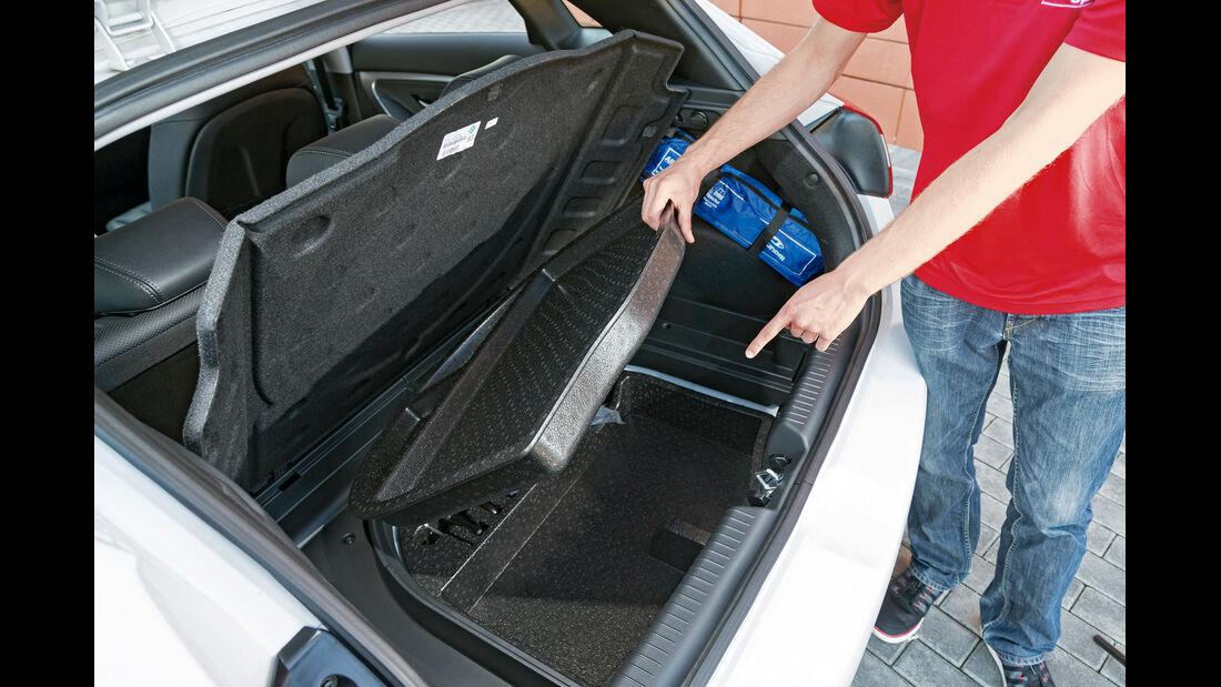 Hyundai i30 1.6, Kofferraum