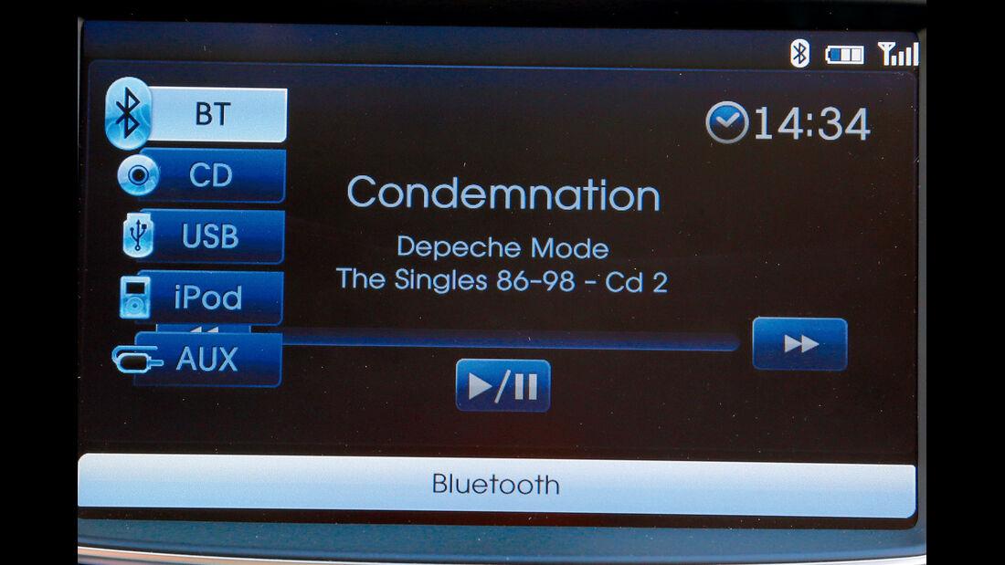 Hyundai i30, Audio