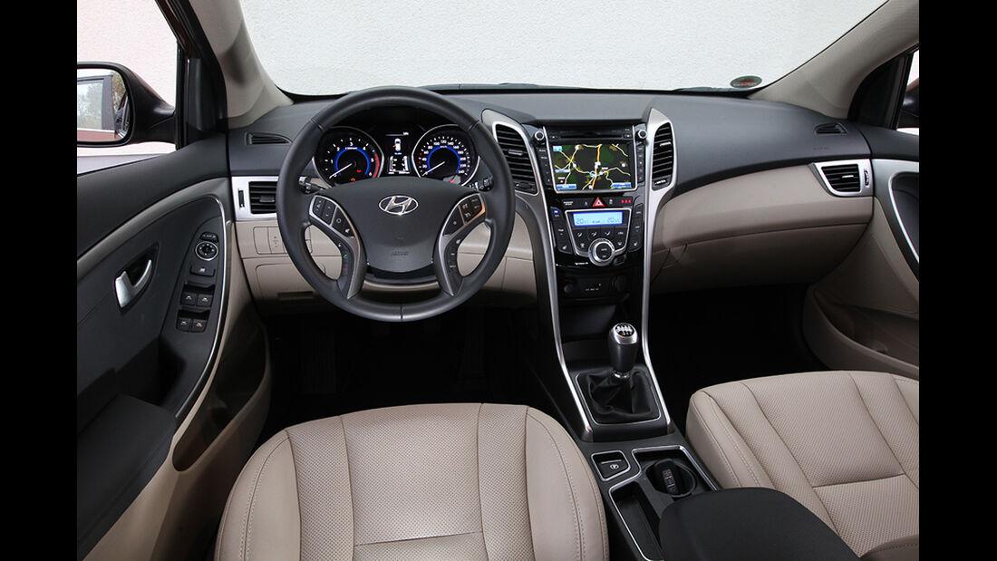 Hyundai i30, Cockpit