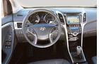 Hyundai i30, Cockpit, Lenkrad