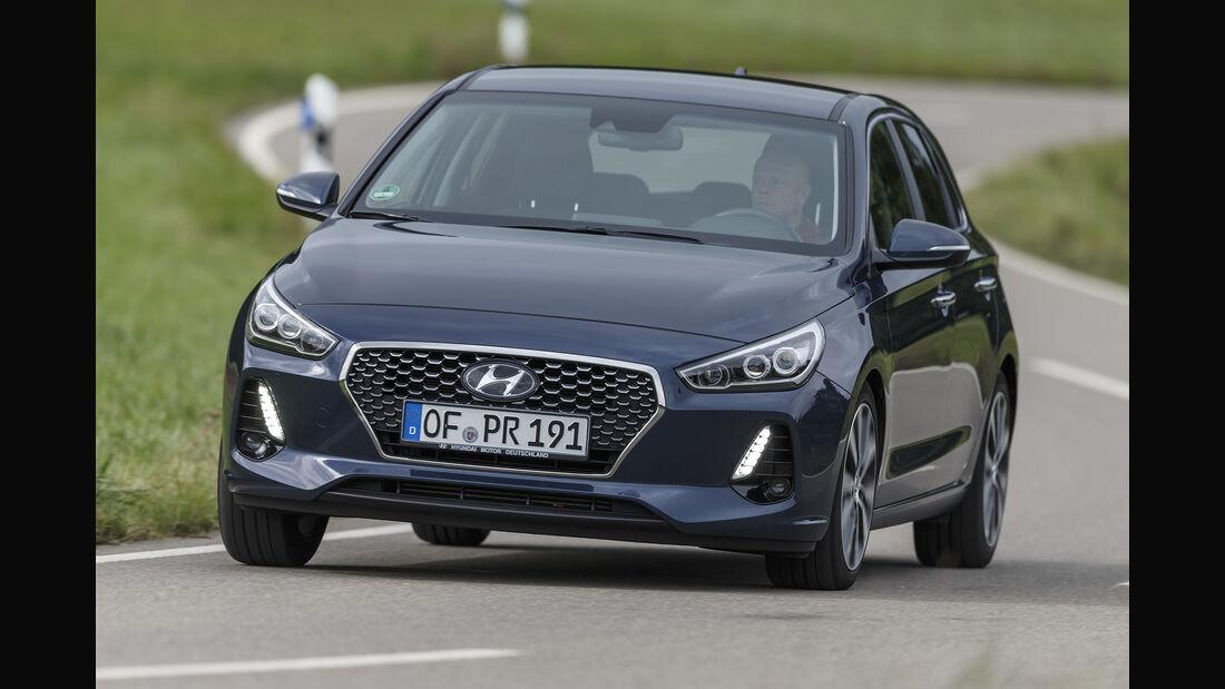 Hyundai i30, Exterieur Front