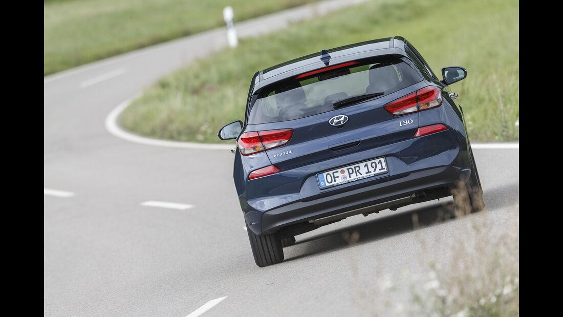 Hyundai i30, Exterieur Heck