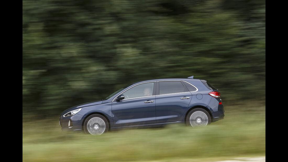 Hyundai i30, Exterieur Seite