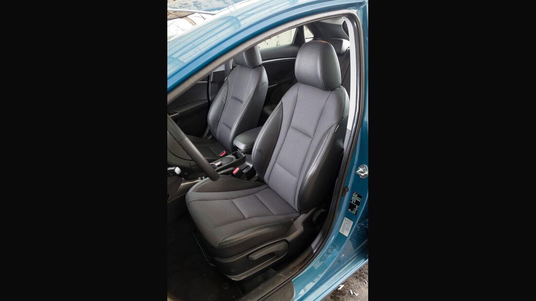 Hyundai i30, Fahrersitz