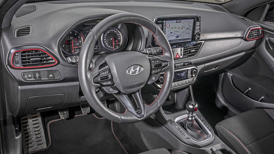 Hyundai i30 Fastback N, Interieur