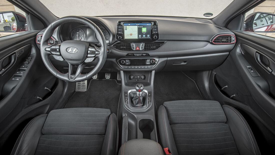 Hyundai i30 Fastback N Performance, Interieur