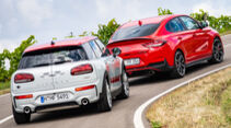 Hyundai i30 Fastback N Performance, Mini Clubman John Cooper Works All4, Exterieur