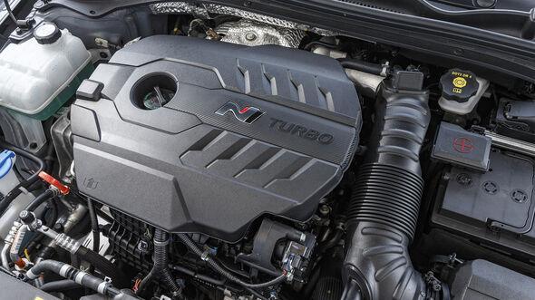 Hyundai i30 Fastback N Performance, Motorraum