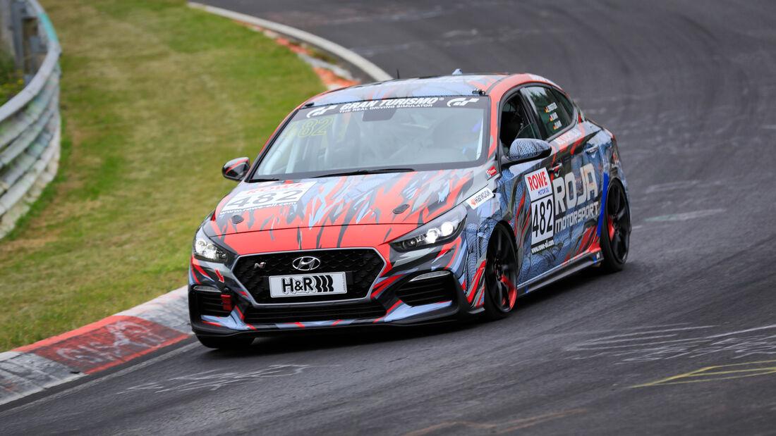 Hyundai i30 Fastback N - Startnummer #482 - VT2 - NLS 2020 - Langstreckenmeisterschaft - Nürburgring - Nordschleife