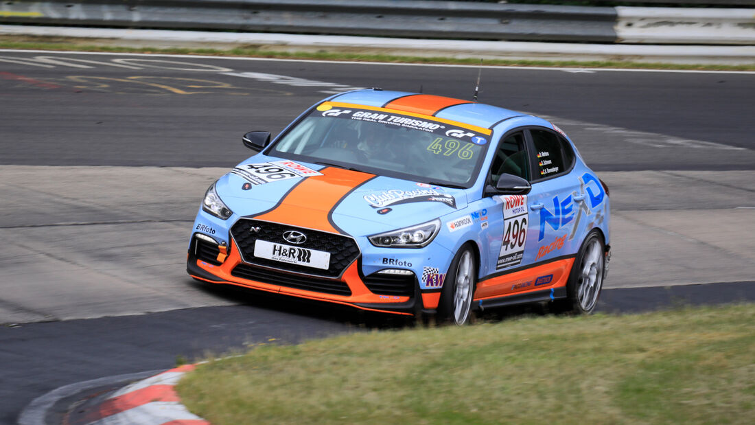 Hyundai i30 Fastback N - Startnummer #496 - VT2 - NLS 2020 - Langstreckenmeisterschaft - Nürburgring - Nordschleife