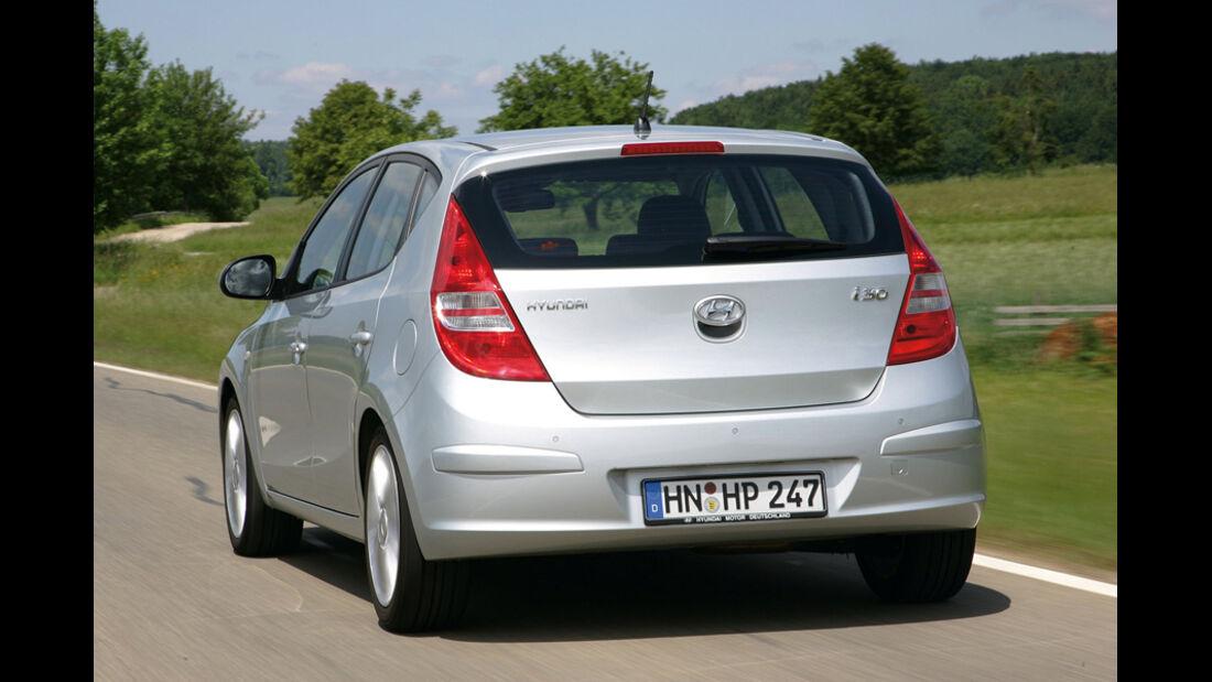 Hyundai i30, Heck