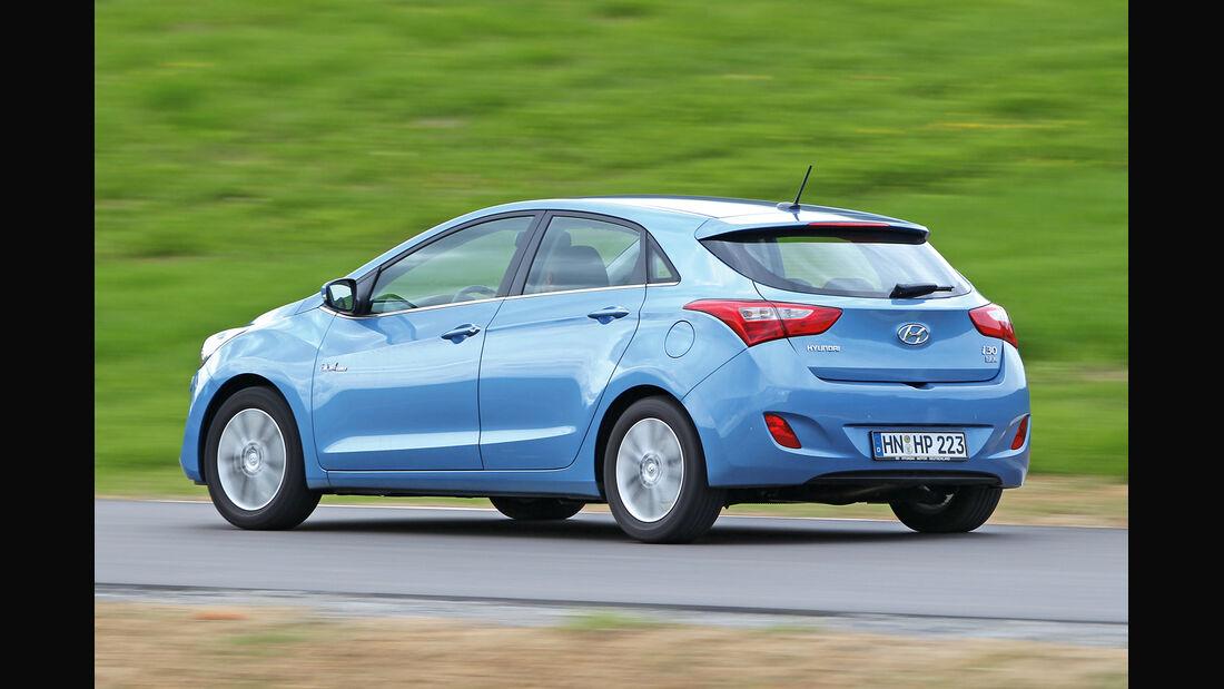 Hyundai i30, Heckansicht