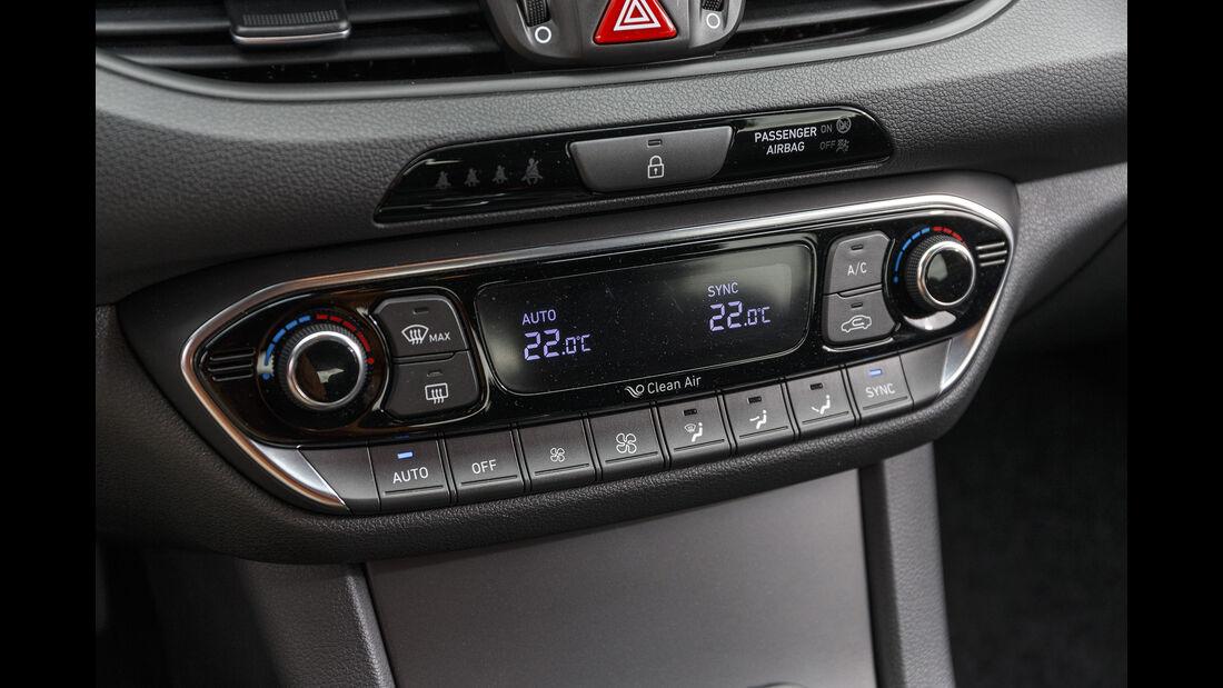 Hyundai i30, Interieur