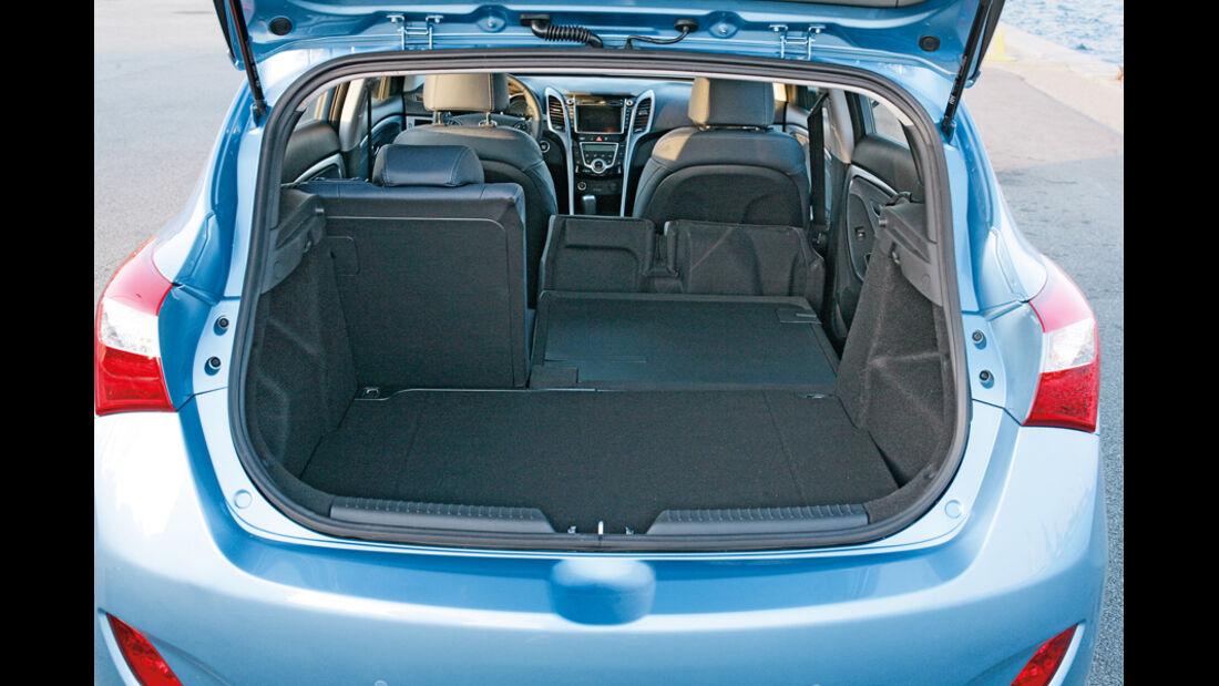 Hyundai i30, Kofferraum