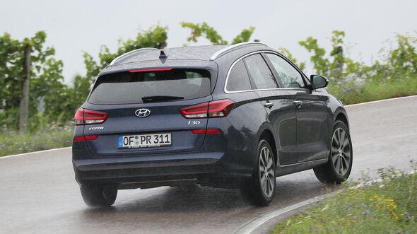 Hyundai i30 Kombi 1.4 T-GDI, Heck
