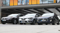 Hyundai i30 Kombi 1.4 T-GDI, Renault Mégane Grandtour Tce 130, Seat Leon ST 1.4 TSI ACT, Front