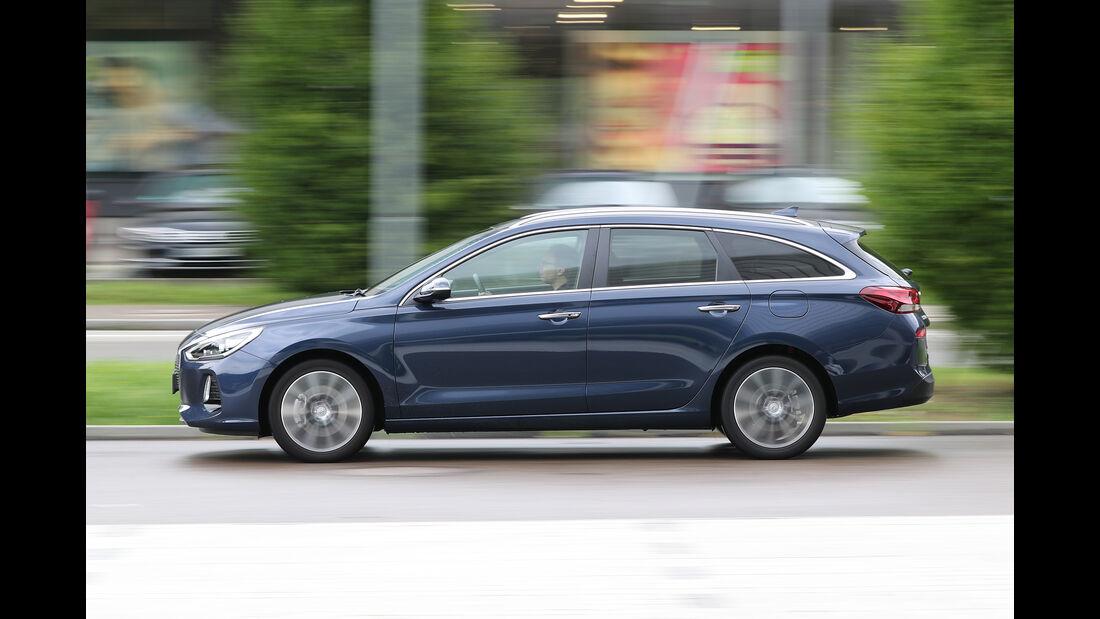 Hyundai i30 Kombi 1.4 T-GDI, Seitenansicht