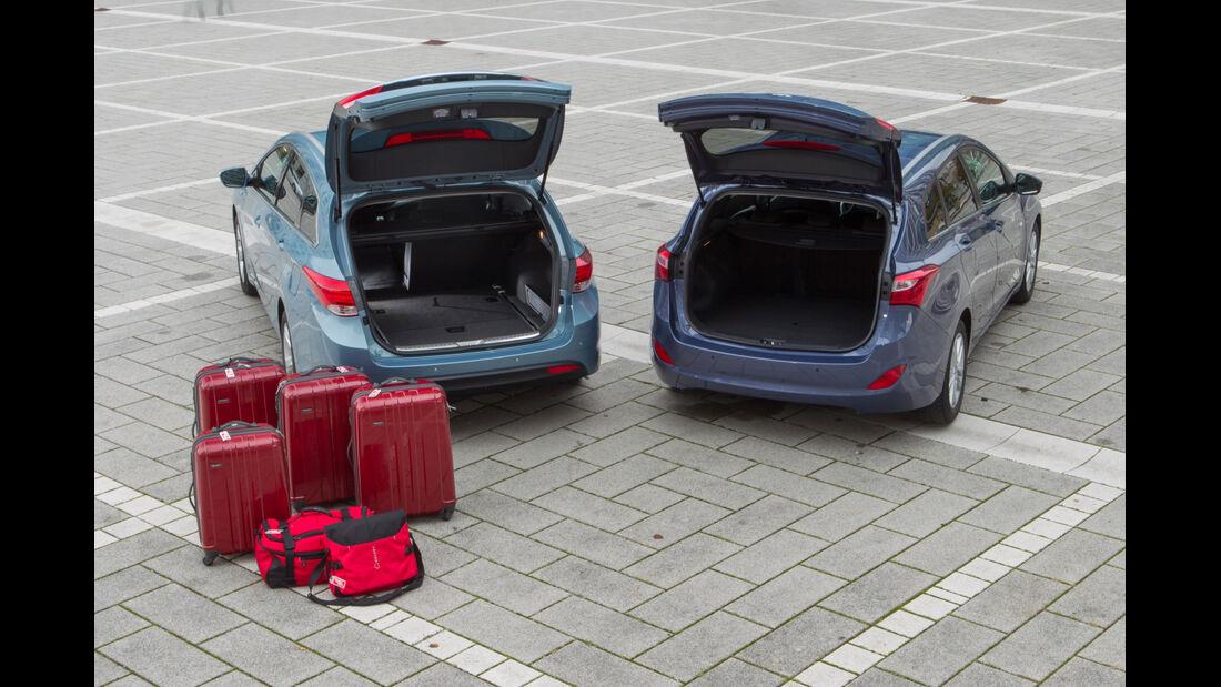 Hyundai i30 Kombi, Hyundai i40 Kombi, Hecklappen