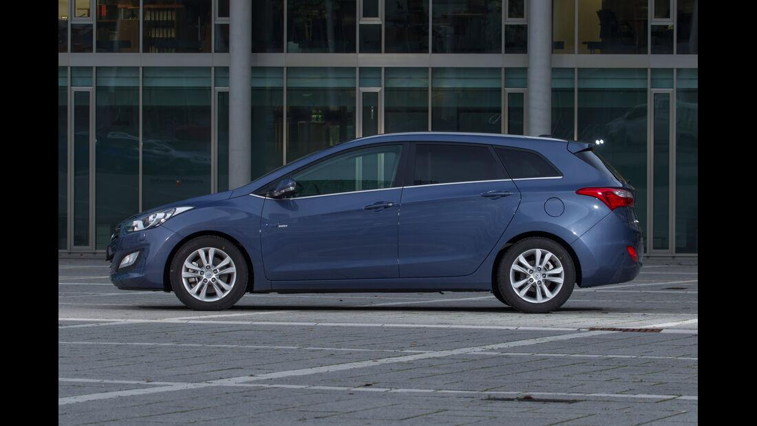 Hyundai i30 Kombi, Seitenansicht