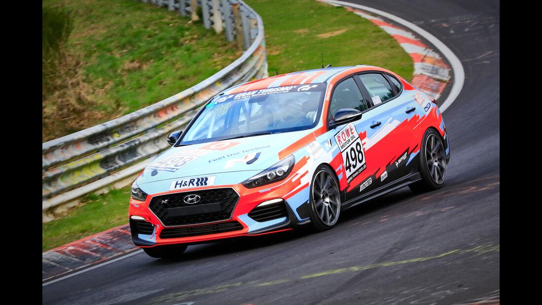 Hyundai i30 N Fastback - Startnummer #498 - Hyundai Team Engstler - VT2 - VLN 2019 - Langstreckenmeisterschaft - Nürburgring - Nordschleife