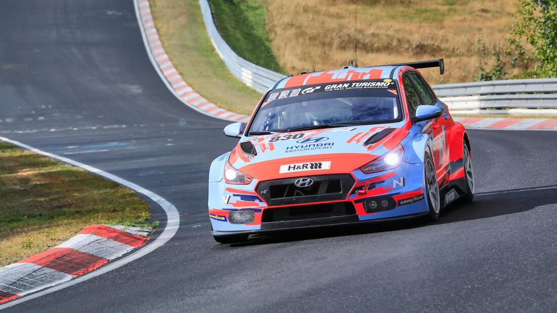 Hyundai i30 N - Hyundai Motorsport N - Startnummer #830 - Klasse: TCR - 24h-Rennen - Nürburgring - Nordschleife - 24. bis 27. September 2020