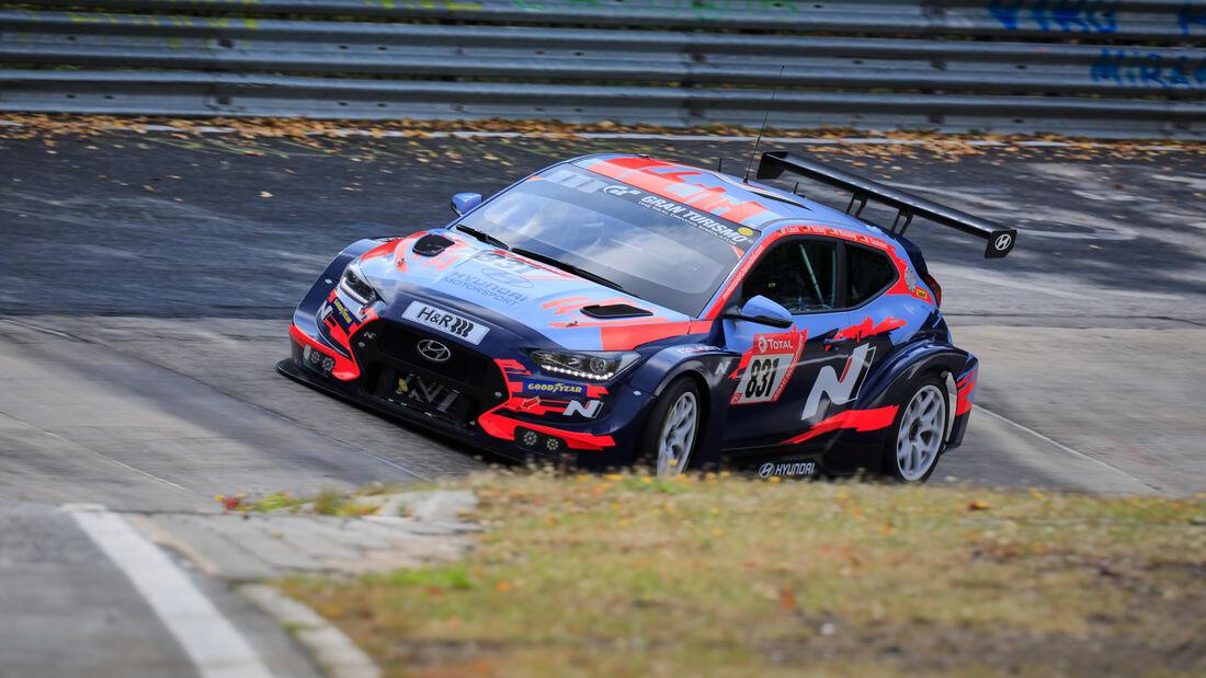 Hyundai i30 N - Hyundai Motorsport N - Startnummer #831 - 24h-Rennen - Nürburgring - Nordschleife - Donnerstag - 24. September 2020