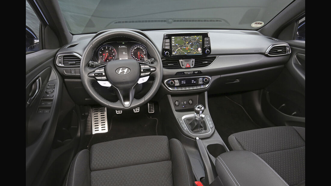 Hyundai i30 N Performance, Interieur