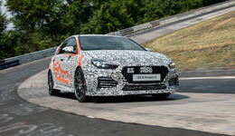 Hyundai i30 N Project C - Kompaktsportwagen - Nürburgring