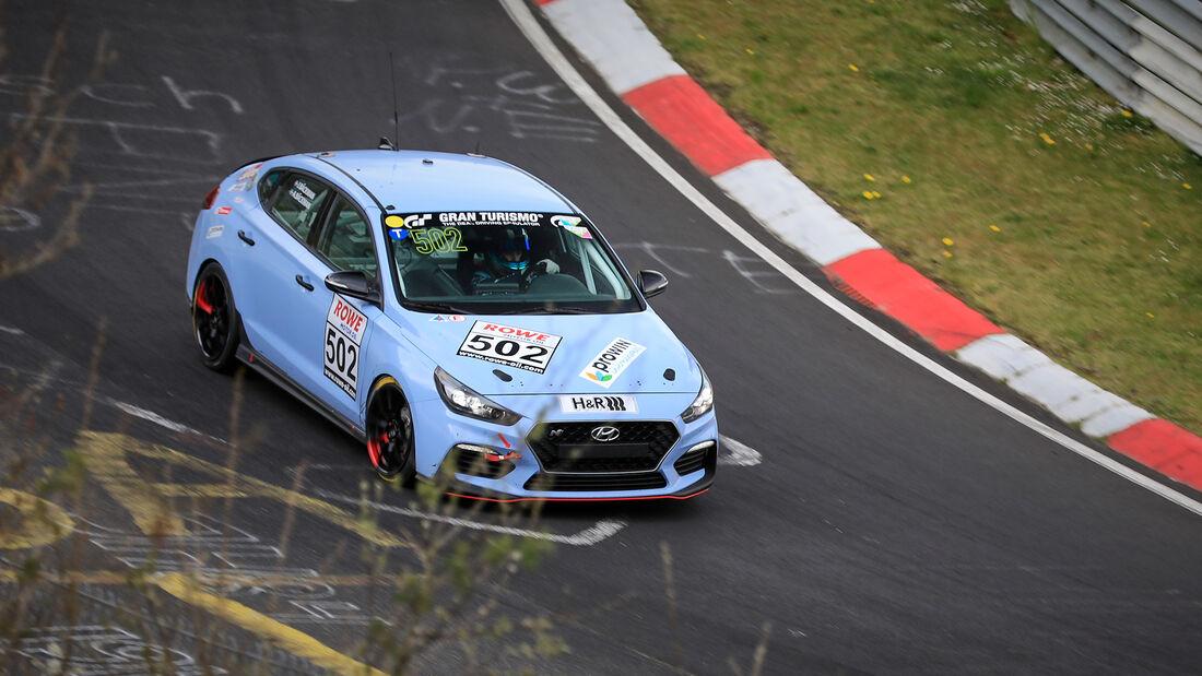 Hyundai i30 N - Startnummer #502 - ROJA Motorsport by ASL Lichtblau - VT2 - NLS 2021 - Langstreckenmeisterschaft - Nürburgring - Nordschleife
