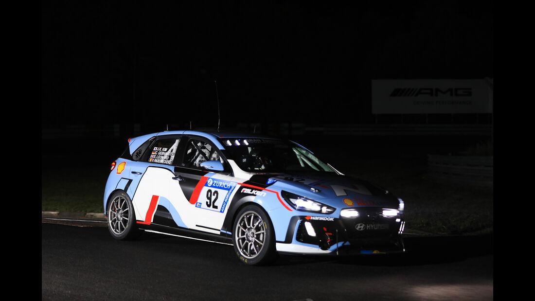 Hyundai i30 N - Startnummer #92 - 24h-Rennen Nürburgring 2017 - Nordschleife