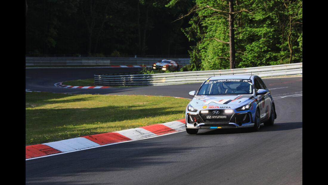 Hyundai i30 N - Startnummer #92 - 24h-Rennen Nürburgring 2017 - Nordschleife - Sonntag - 28.5.2017