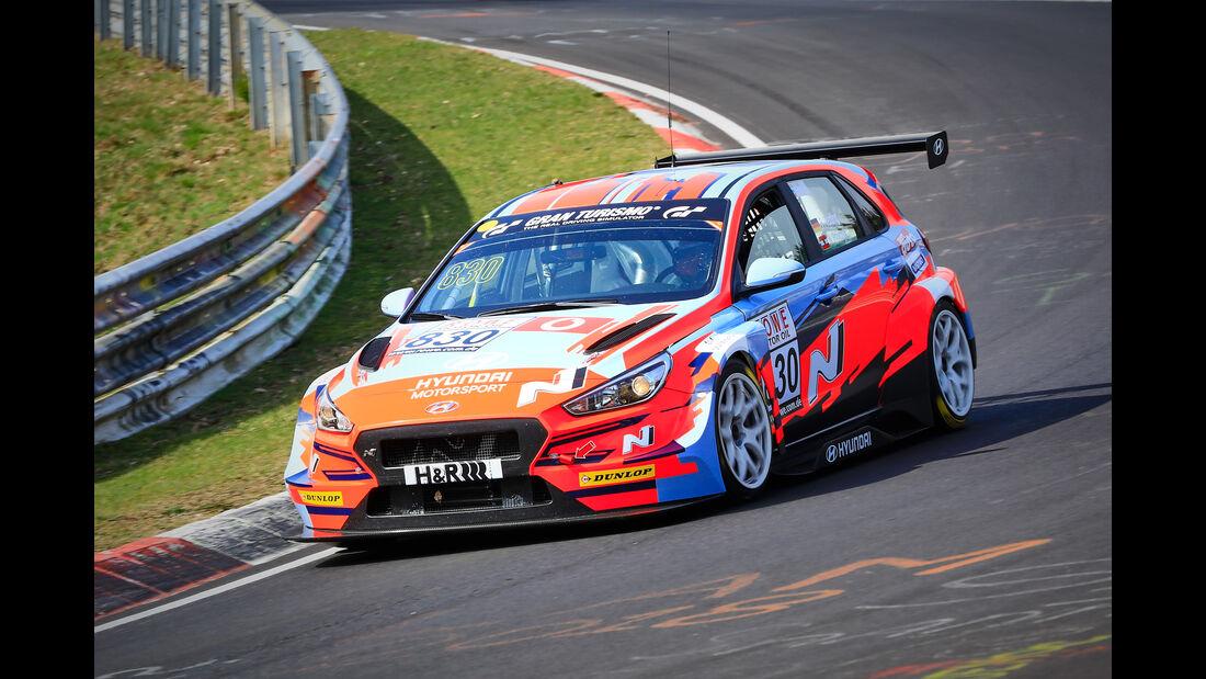 Hyundai i30 N TCR - Startnummer #830 - Hyundai Motorsport N - TCR - VLN 2019 - Langstreckenmeisterschaft - Nürburgring - Nordschleife