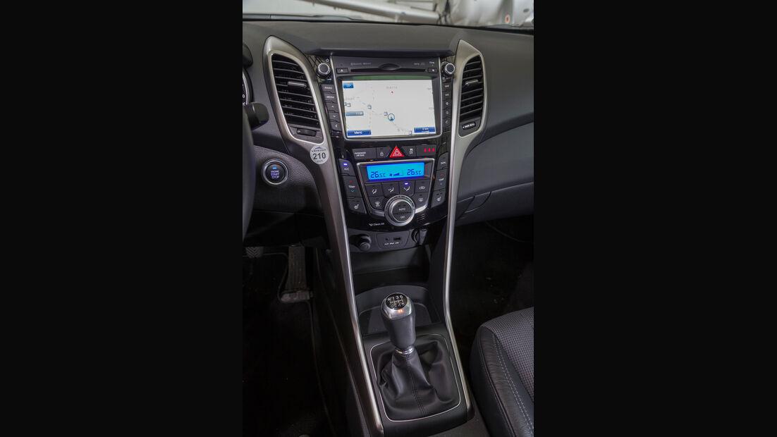 Hyundai i30, Navi, Bildschirm