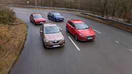 Hyundai i30, Renault Mégane, Seat Leon, Toyota Corolla