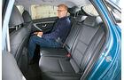 Hyundai i30, Rücksitz, Beinfeiheit