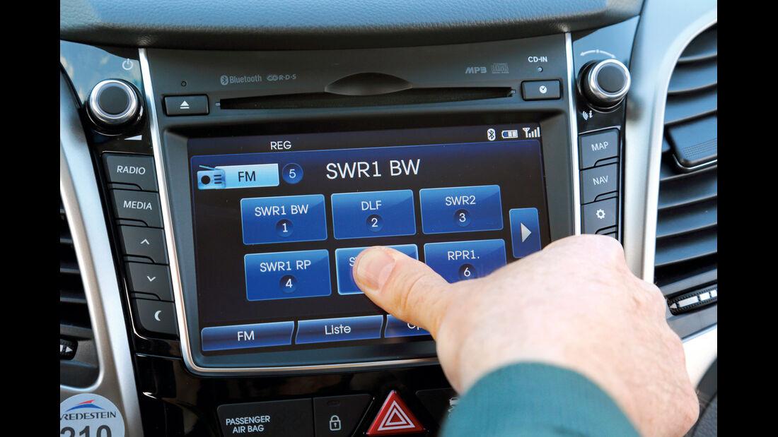 Hyundai i30, Touchscreen