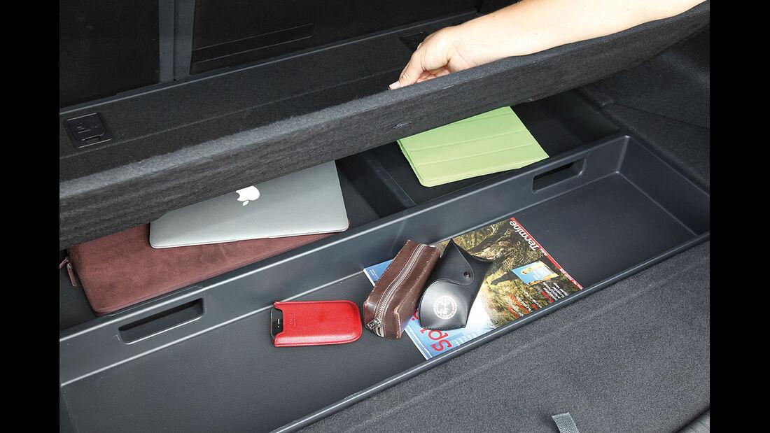 Hyundai i30 cw 1.6 CRDi, Ablagen, Kofferraum