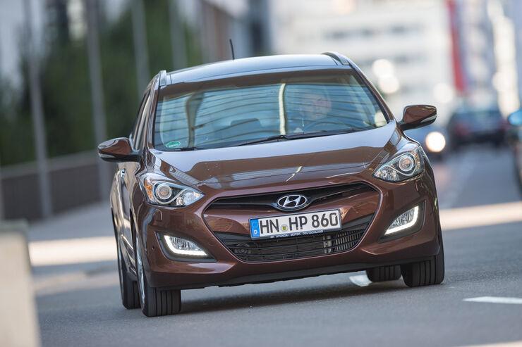 Hyundai i30 cw 1.6 CRDi, Frontansicht