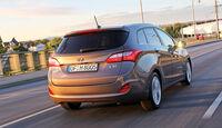 Hyundai i30 cw 1.6 CRDi, Heckansicht