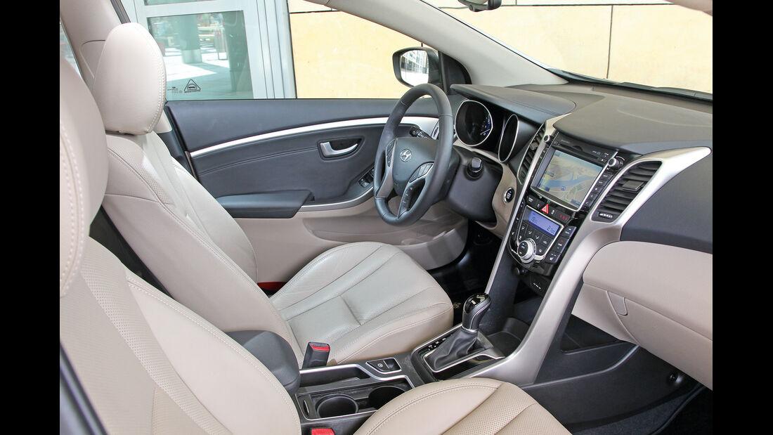 Hyundai i30 cw 1.6 CRDi, Innenraum, Fahrersitz