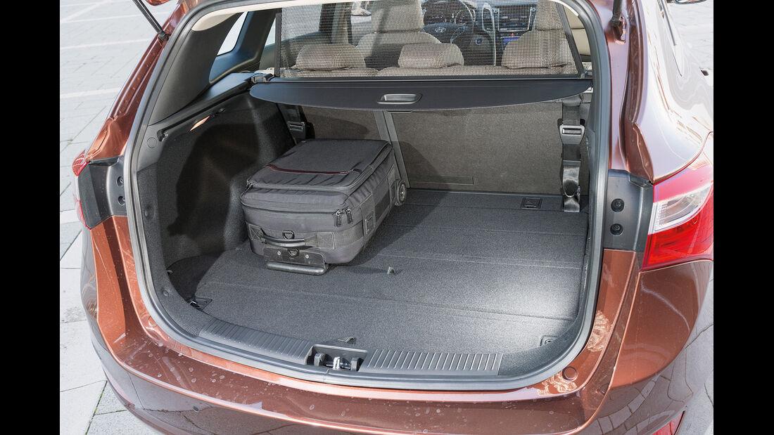 Hyundai i30 cw 1.6 CRDi, Kofferraum