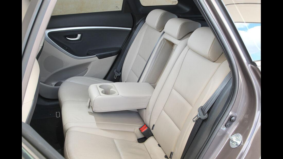 Hyundai i30 cw 1.6 CRDi, Rückbank