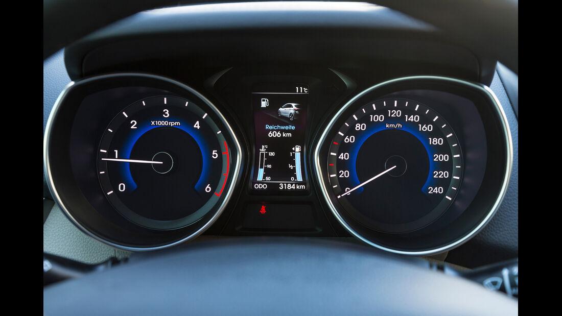 Hyundai i30 cw 1.6 CRDi, Rundelemente