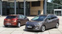 Hyundai i30 cw 1.6 CRDi, Seitenansicht