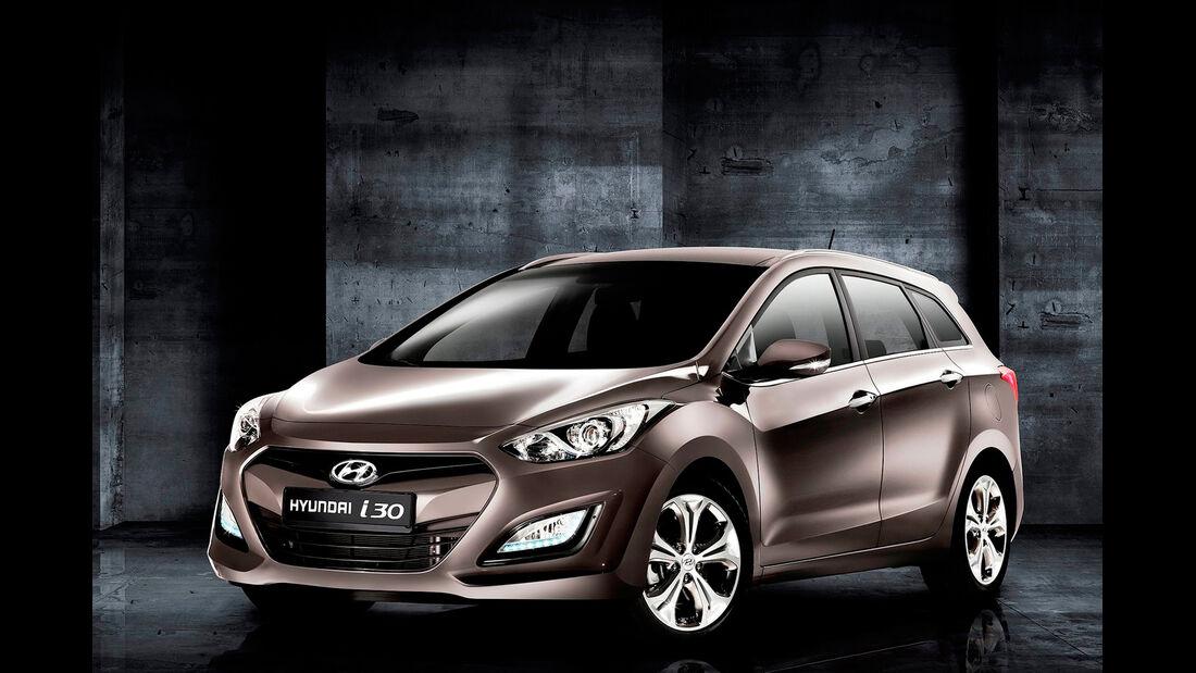 Hyundai i30 cw, Frontansicht