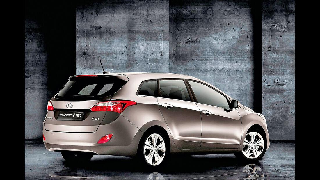 Hyundai i30 cw, Heck